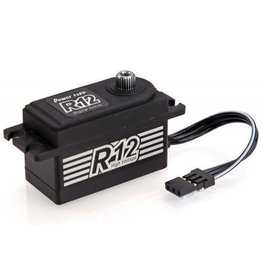 Power HD Power HD Low Profile Standard R12 12kg 7.4v Metal Geared Servo