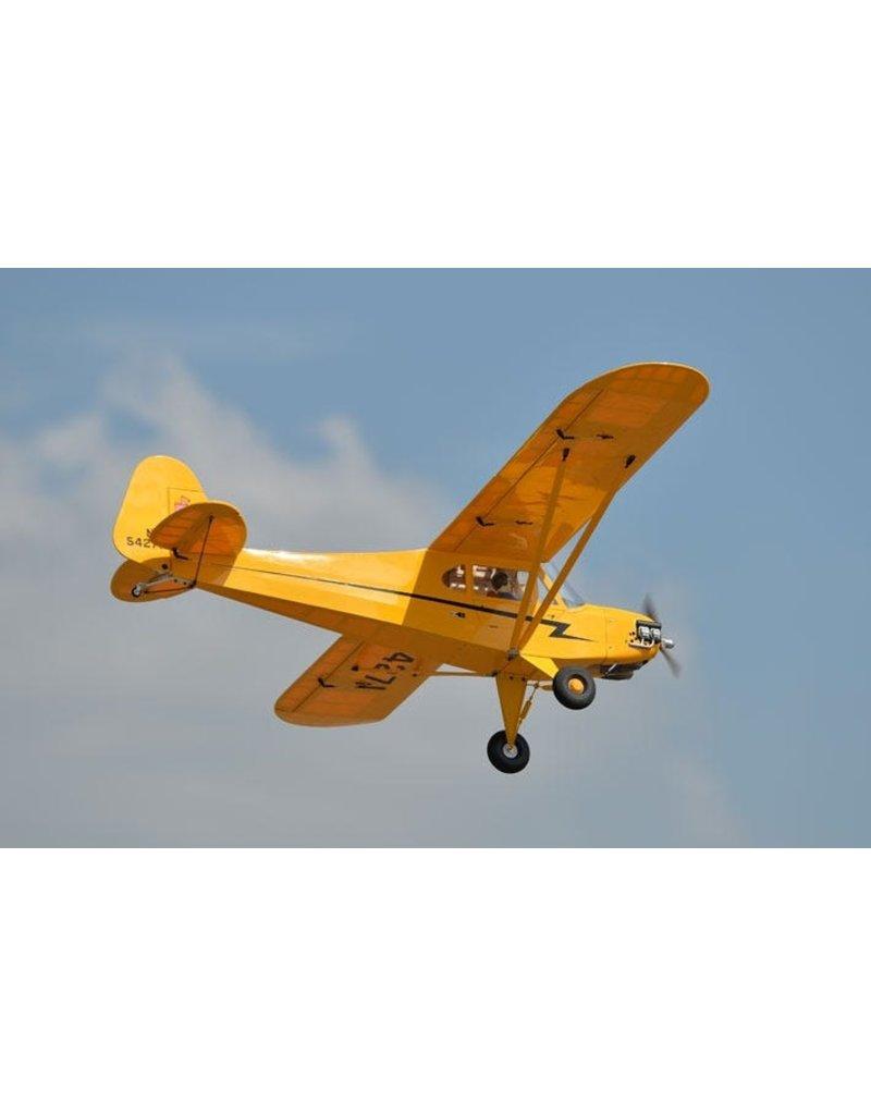Phoenix Model Phoenix Model Piper J3 Cub RC Plane, 20cc ARF