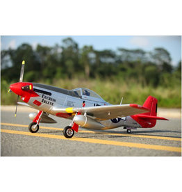 FMS FMS P-51D V8 1400mm Red Tail PNP