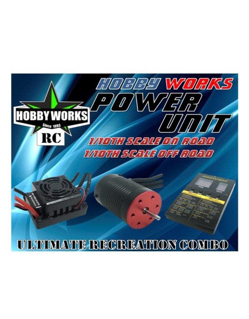 Hobby Works Hobby Works RC Combo Brushless 50A W/P 4000kv