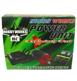 Hobby Works Hobby Works RC Combo Brushless 120A W/P 4000kv
