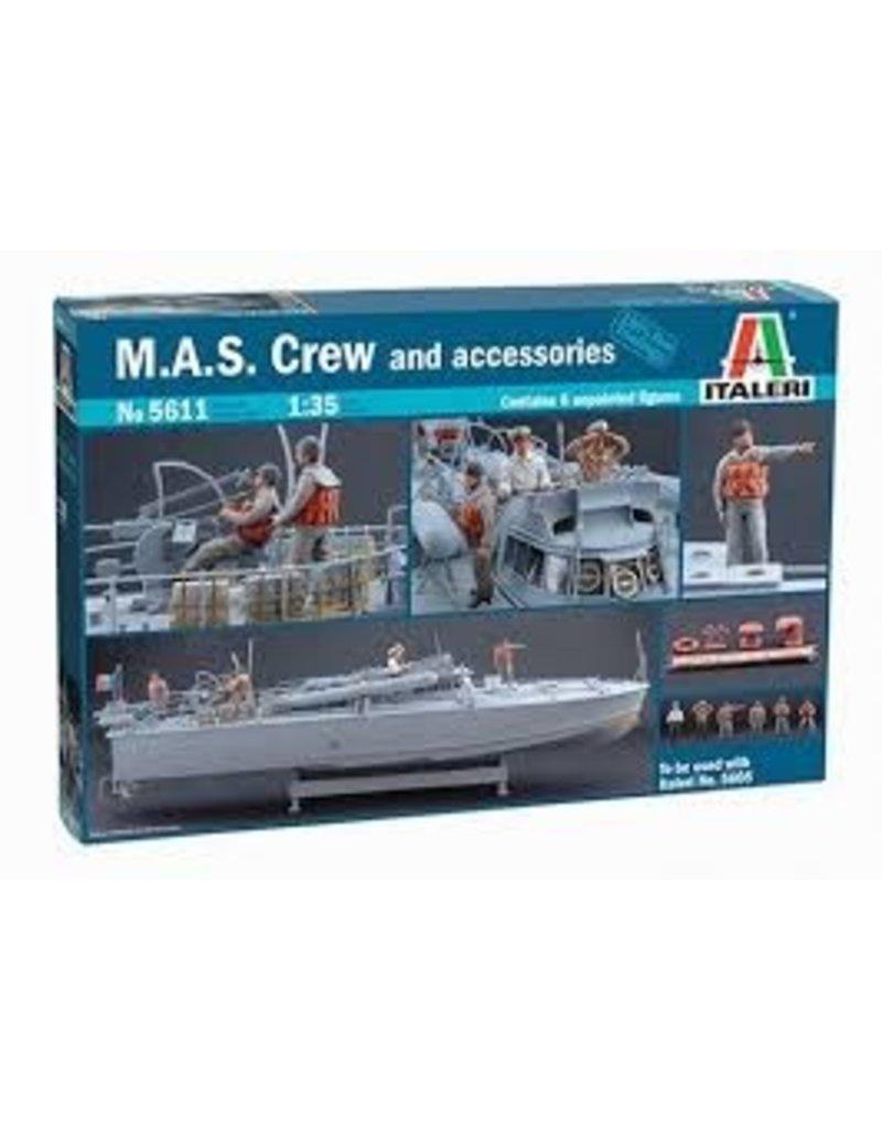 Italeri Italeri 5611 M.A.S. Crew and Accessories