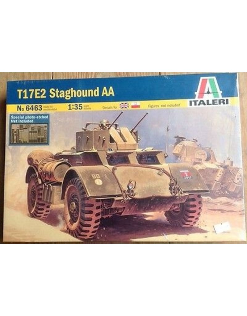 Italeri Italeri 6463 T17E2 Staghound AA
