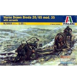 Italeri Italeri 6464 Horse Drawn Breda 20