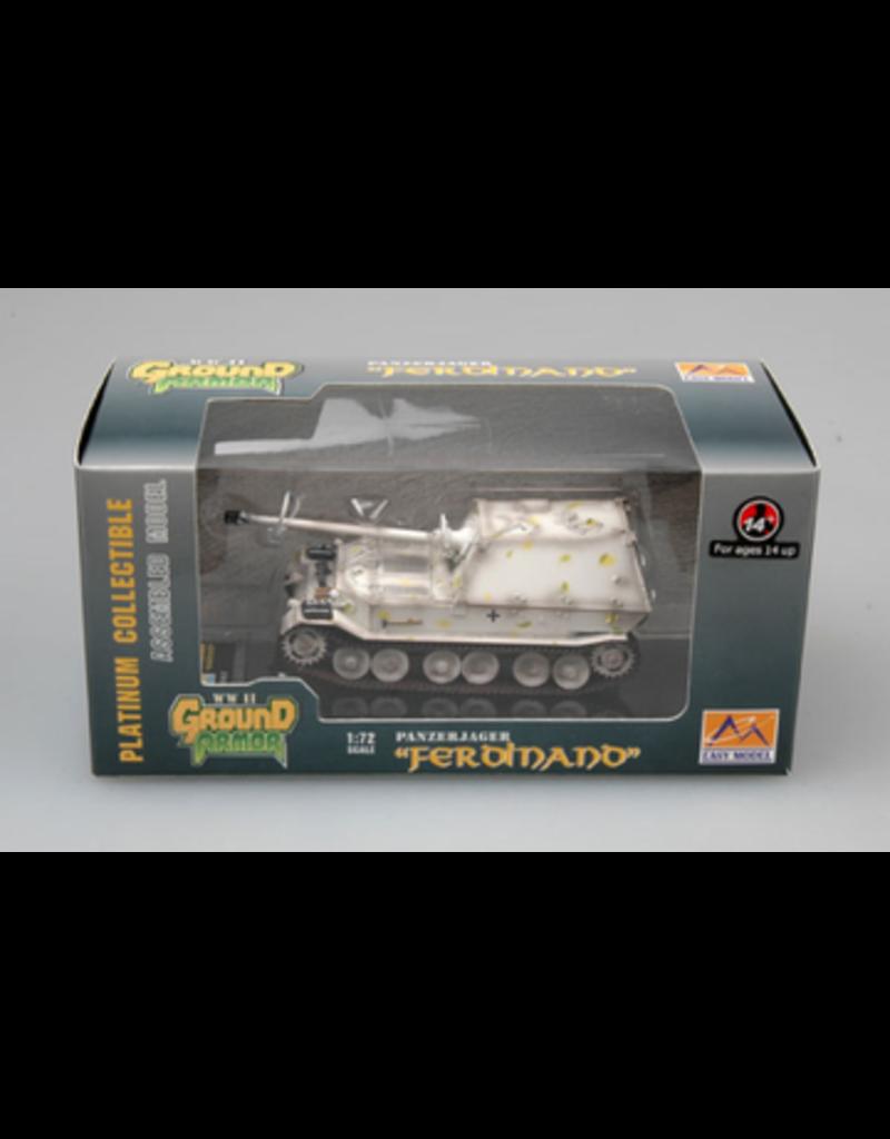 "Easy Model EASY MODEL 36224 1/72 PANZERJAGER ""FERDINAND"" 653RD ABT 'EASTERN FRONT' 1943 ASSEMBLED MODEL"