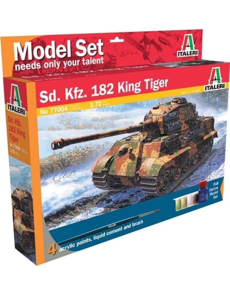 Italeri Italeri 77004 Sd. Kfz.182 King Tiger