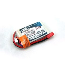 Dualsky Dualsky 400mah 2S 7.4v 30C ECO LiPo  Battery with JST Connector