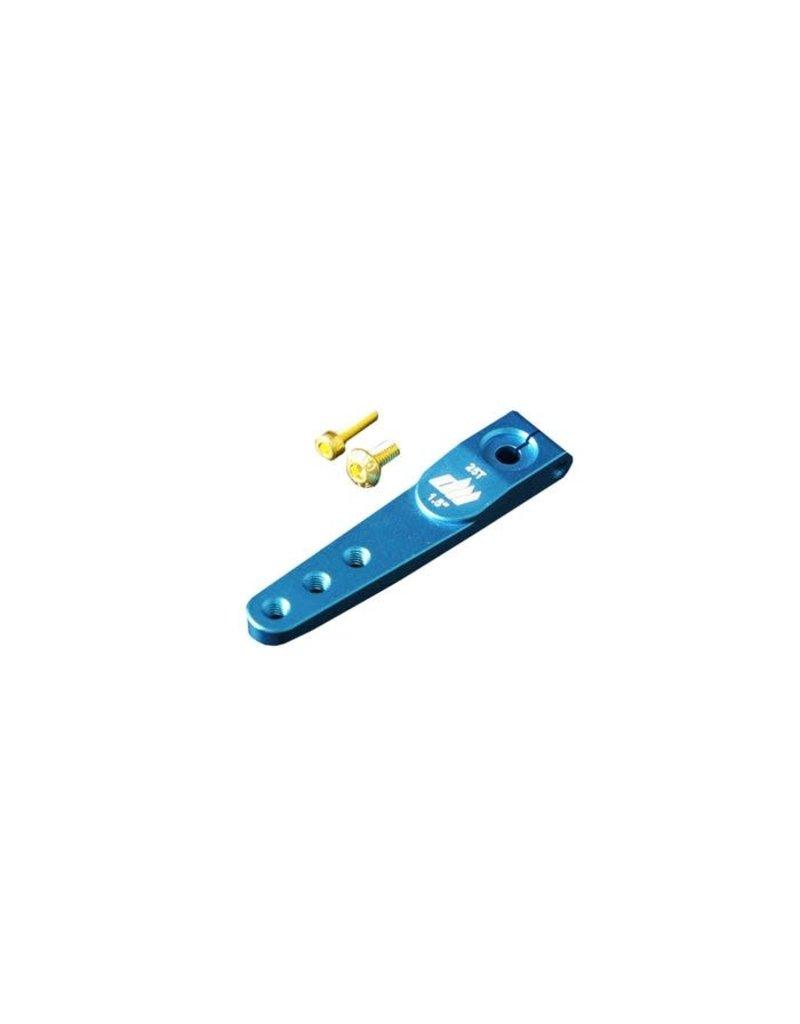 Dualsky 3000075712 Dualsky Alloy Servo Half Arm, 25T,  2.0inch, Blue