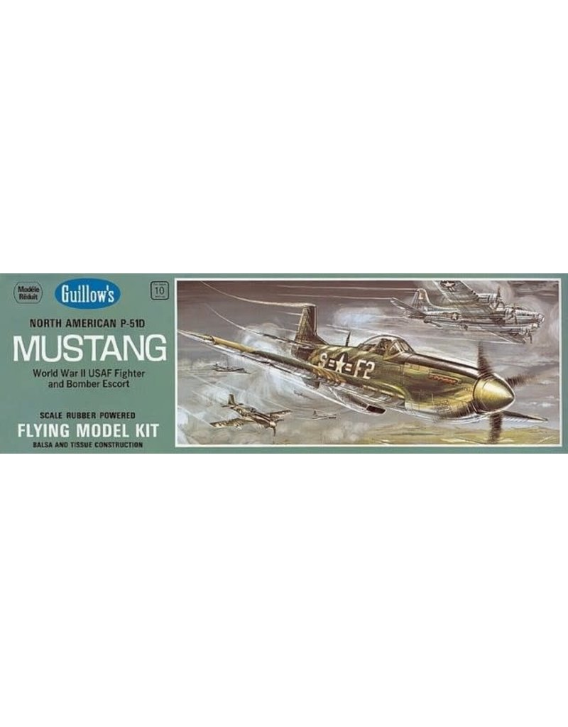Guillows Guillows P-51D Mustang Model Kit