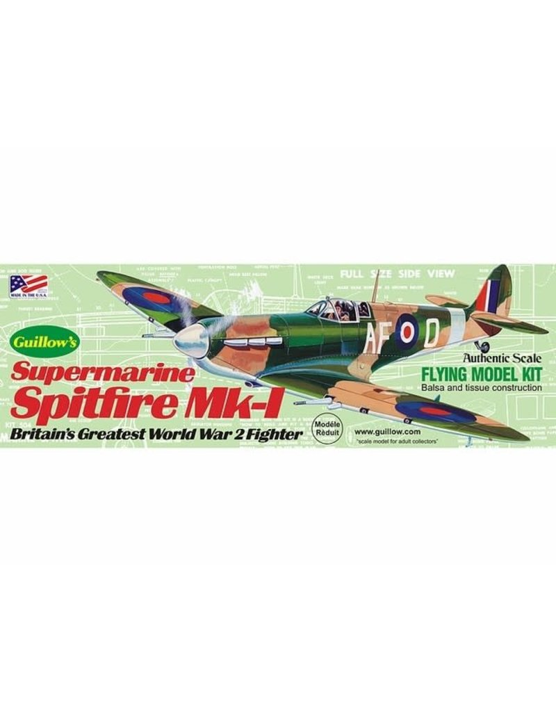 Guillows Supermarine Spitfire Kit