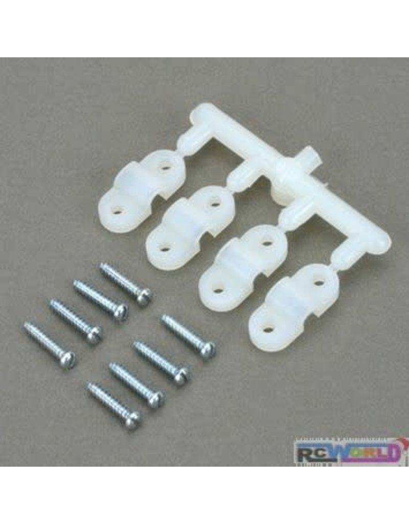 Dubro Dubro 5/32 Inch Nylon Landing Gear Straps (4)