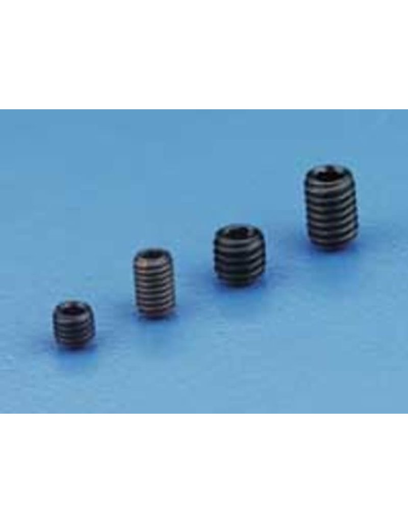 Dubro Dubro 4Mm X 4 Socket Screw Set