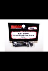 Dubro Dubro 4.0Mm X 25 Socket - Head Cap Screw(4)