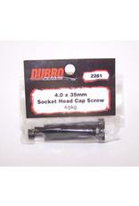 Dubro Dubro 4.0Mm X 35 Socket - Head Cap Screw-4