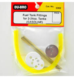 Dubro Dubro Replace Fuel Tank Cap&Fit 2-24Oz Ga