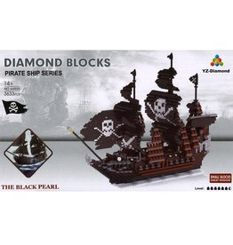 YZ Diamond YZ Diamond The Black Pearl 3633pc