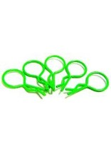 Hobby Works HobbyWorks Body Pins Fluro Green (5) 1/10