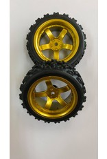 Correct model Correct Model 5 Spoke D5G (6) Gold+ Rally Block (pr) 1/10th