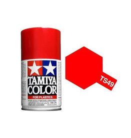 Tamiya Tamiya TS-49 Bright Red Lacquer Spray Paint 100ml