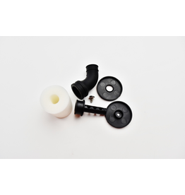 CY Model C.Y 1/10 air filter (Black) + black elbow