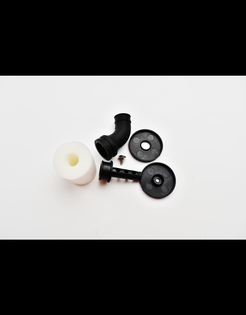 CY Model C.Y 1/10 air filter (Black) + black elbow