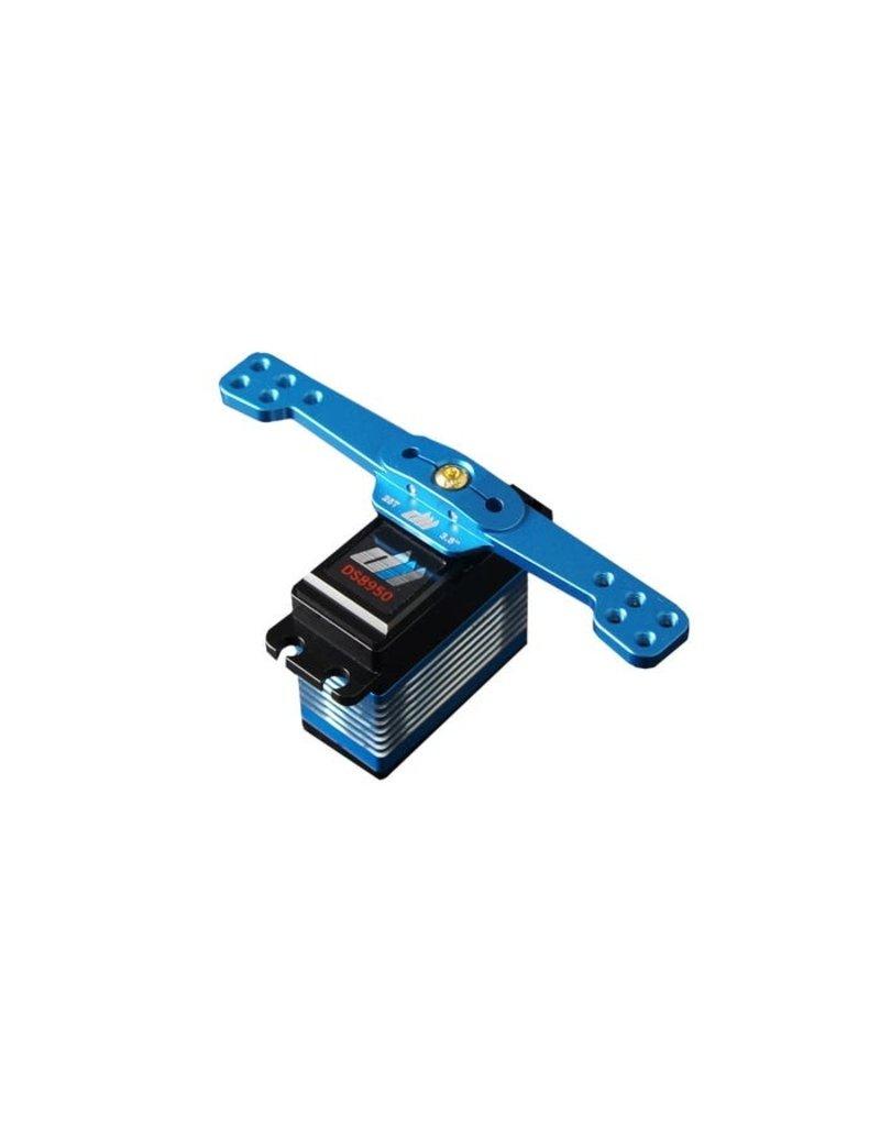 Dualsky DUALSKY ALLOY SERVO FULL ARM, 25T, 4.0INCH BLUE