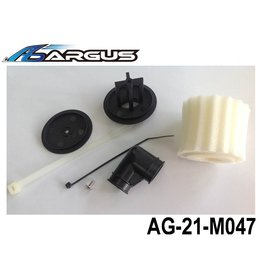Argus Air Filter Housing with Foam