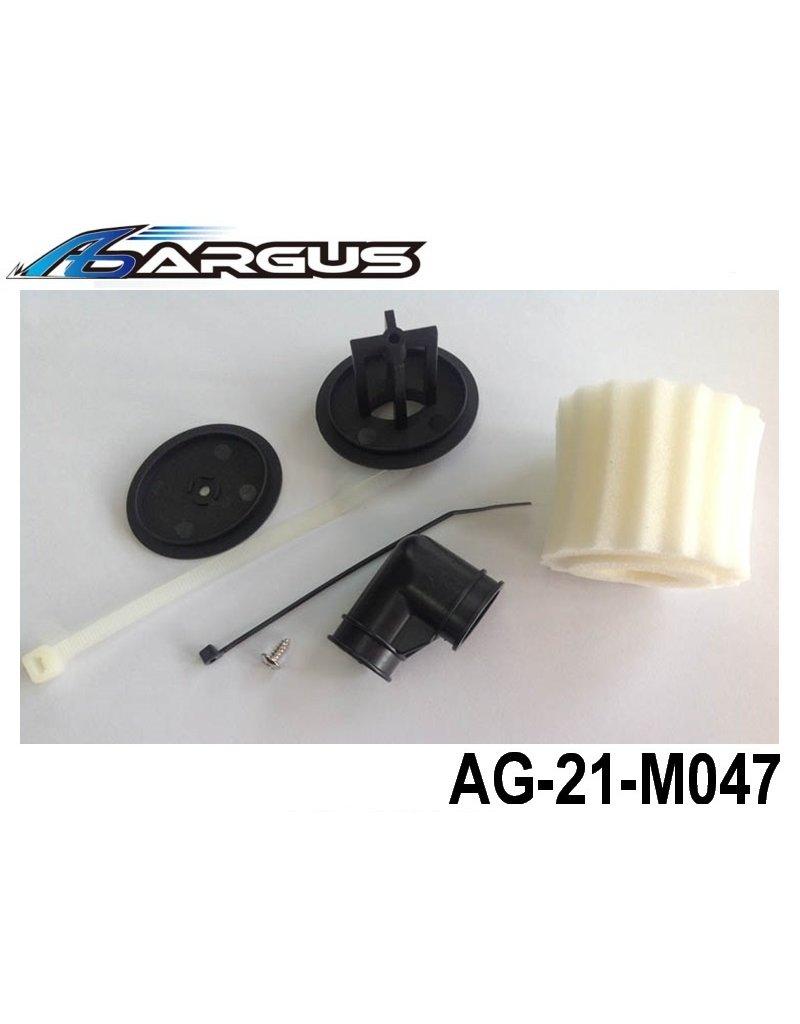 Argus Air Filter Housing with Foam