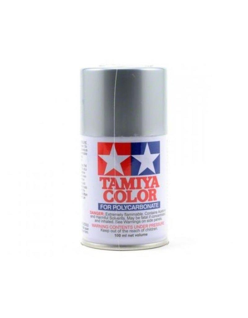 Tamiya Tamiya PS-48 Semi-Gloss Silver Anodised Aluminium Polycarbonate Spray Paint 100ml
