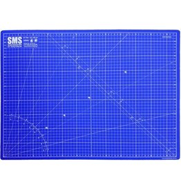 The Scale Modellers Supply Premium Cutting Mat A2 BLUE