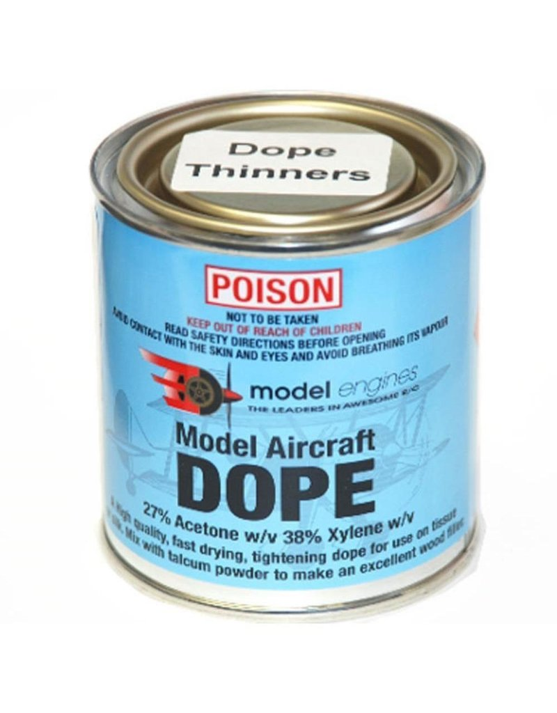 Model Engines Aircraft Dope Thinners 250ml