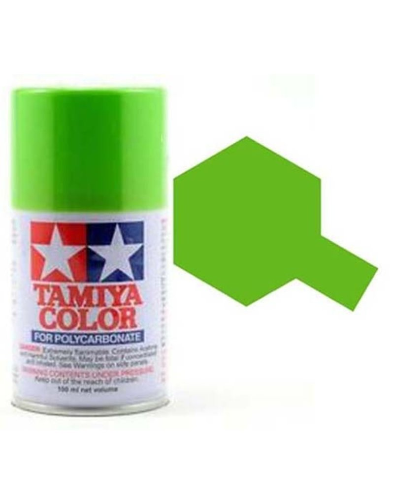 Tamiya amiya PS-8 Light Green Polycarbanate Spray Paint 100ml