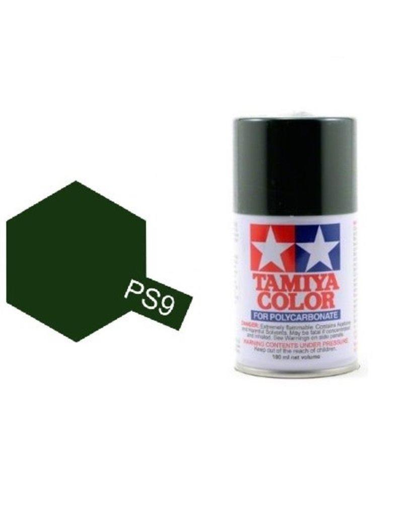 Tamiya Tamiya PS-9 Green Polycarbanate Spray Paint 100ml