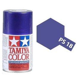 Tamiya Tamiya PS-18 Metalic Purple Polycarbanate Spray Paint 100ml