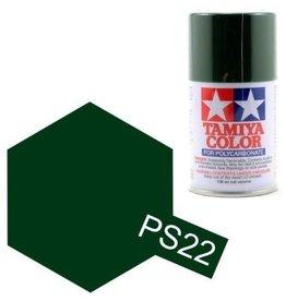 Tamiya Tamiya PS-22 Racing Green Polycarbanate Spray Paint 100ml