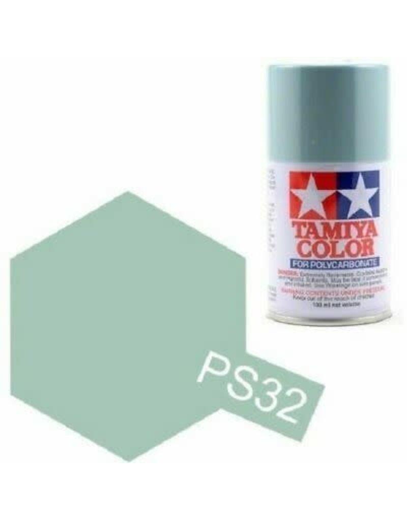 Tamiya Tamiya PS-32 Corsa Grey Polycarbanate Spray Paint 100ml