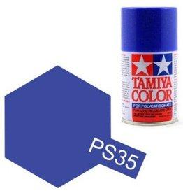 Tamiya Tamiya PS-35 Blue Violet Polycarbanate Spray Paint 100ml