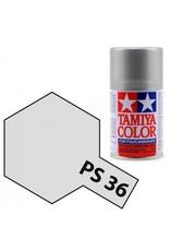 Tamiya Tamiya PS-36 Translucent Silver Polycarbanate Spray Paint 100ml