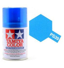 Tamiya Tamiya PS-39 Translucent Light Blue Polycarbanate Spray Paint 100ml