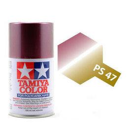 Tamiya Tamiya PS-47 Iridescent Pink/Gold Polycarbanate Spray Paint 100ml