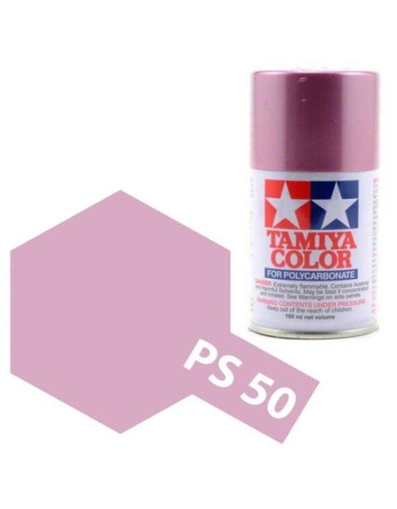 Tamiya Tamiya PS-50 Sparkling Pink Anodised Aluminium Polycarbanate Spray Paint 100ml