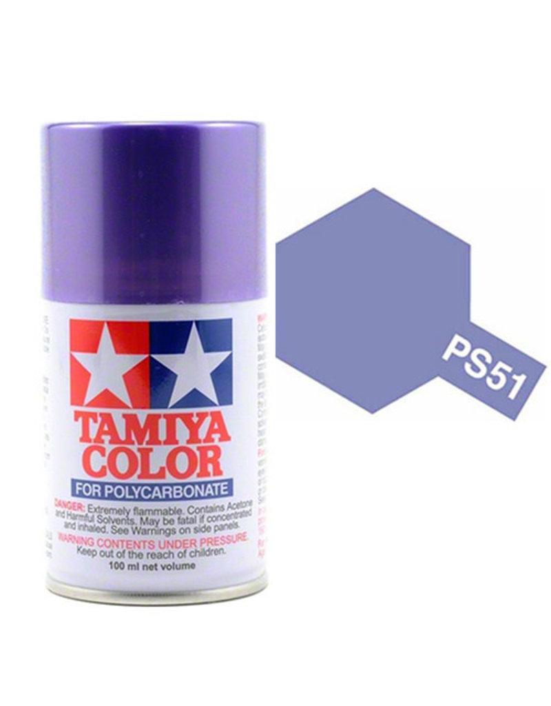 Tamiya Tamiya PS-51 Purple Anodised Aluminium Polycarbanate Spray Paint 100ml