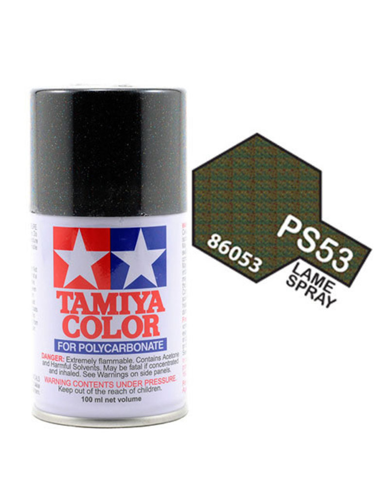Tamiya Tamiya PS-53 Lame Flake Polycarbanate Spray Paint 100ml