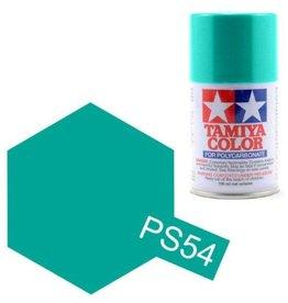 Tamiya Tamiya PS-54Cobalt Green Polycarbanate Spray Paint 100ml