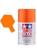Tamiya Tamiya PS-62 Pure Orange Polycarbanate Spray Paint 100ml