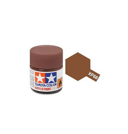Tamiya Tamiya XF-68 Nato Brown Flat Acrylic Paint 10ml