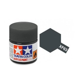 Tamiya Tamiya XF-63 German Grey Flat Acrylic Paint 10ml