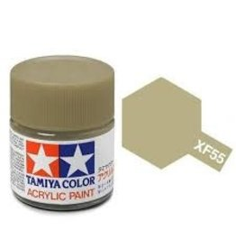 Tamiya Tamiya XF-55 Deck Tan Flat Acrylic Paint 10ml