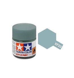 Tamiya Tamiya XF-23 Light Blue Flat Acrylic Paint 10ml