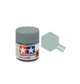 Tamiya Tamiya XF-83 Medium Sea Grey 2 (RAF) Flat Acrylic Paint 10ml